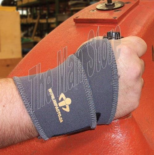 IMPACTO TS226 Thermo Wrap Therapeutic Wrist Support, Provides Natural Heat Therapy