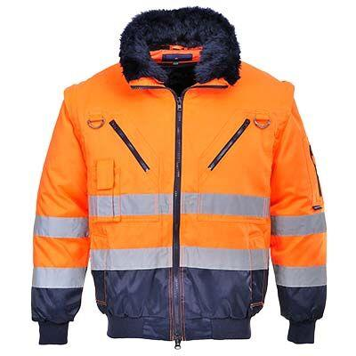 UPJ50 Hi Vis Jacket Orange