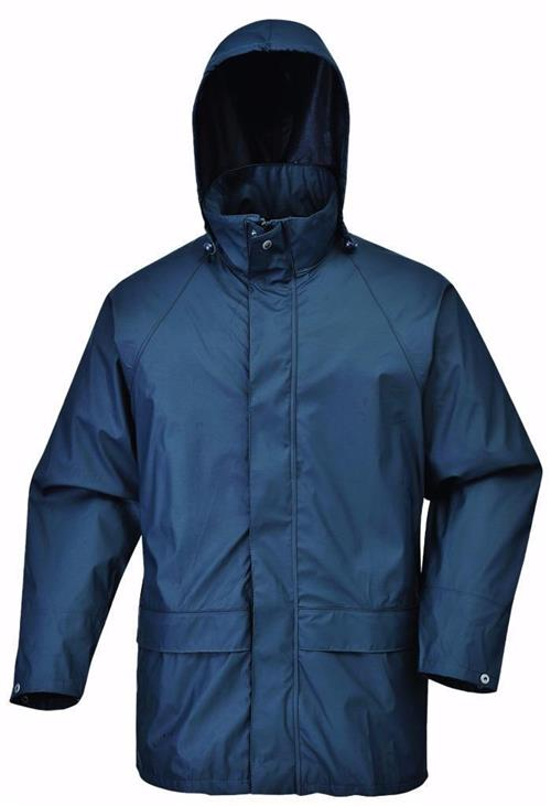 PortWest US450NAR Sealtex Classic Waterproof Rain Jacket, Navy