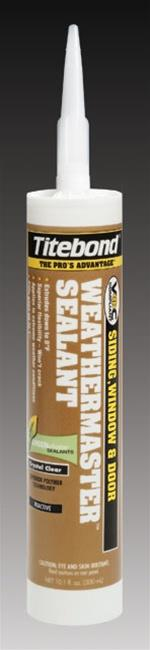 Titebond WeatherMaster Beige Sealants, 12/Case