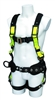 SafeWaze FS377 Pro+ Wind Energy Harness with Front & Side D-Rings & Waist Belt