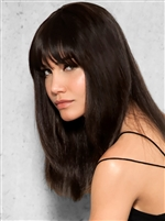 Clip in Human Hair Fringe - Hair Piece