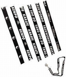 Martial Arts Accessories Keychain Lanyard