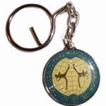 Martial Arts Accessories Keychain World Taekwondo