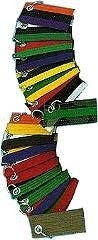 Martial Arts Accessories Keychain Striped Rank Belt