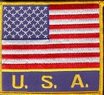 Martial Arts Accessories Patch USA Flag USA