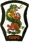 Martial Arts Accessories Patch Dragon Tiger Kenpo