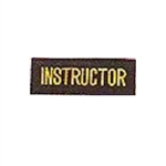 Martial Arts Accessories Patch Instructor