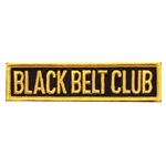Martial Arts Accessories Patch Blackbelt Club