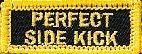 Martial Arts Accessories Patch Iron On Side Kick