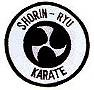 Martial Arts Accessories Patch Shorin Ryu Karate