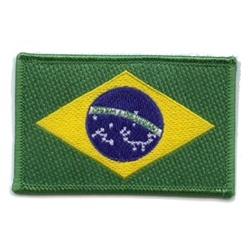 Martial Arts Accessories Patch Brazil Flag