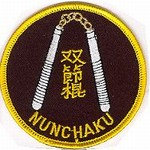 Martial Arts Accessories Patch Weapon Nunchaku