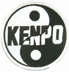 Martial Arts Accessories Patch Kenpo Yin Yang