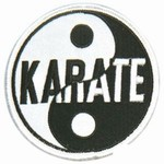 Martial Arts Accessories Patch Karate Yin Yang