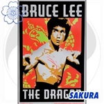 Martial Arts Accessories Poster Bruce Lee Blacklight