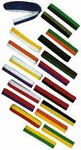 Martial Arts Belts Rank Split Color