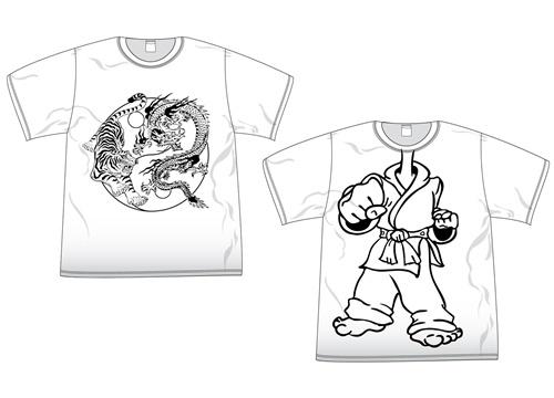 Arts Clothing Shirt T-Shirt Coloring