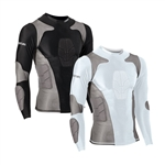 Martial Tactical Long Sleeve Padded Compression Shirt