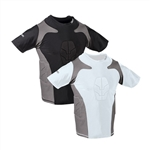 Martial Tactical Short Sleeve Padded Compression Shirt