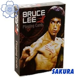 Martial Arts Novelties gifts presents Bruce Lee deck of cards