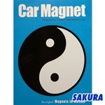 Martial Arts Novelties Magnet Car Yin Yang
