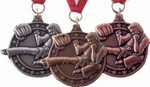 Martial Arts Novelties Sidekick Medal 2