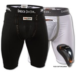 Martial Arts Protect Gear Shorts Compression Groin Protection Shock Doctor
