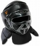 Martial Arts Protect Gear Face Shield Head Guard