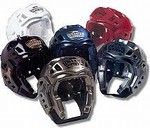 Martial Arts Protect Gear Warrior Head Guard