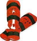 Martial Arts Protect Gear Foam Shin Instep Guards