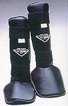 Martial Arts Protect Gear Vinyl Shin Instep Guards