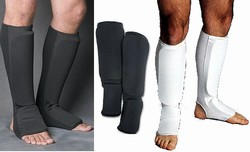 Martial Arts Protect Gear Cloth Shin Instep Guards
