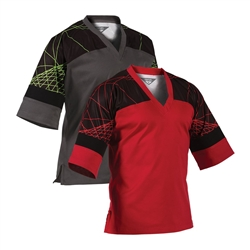 Martial Arts Uniforms Karate TKD EasyFit Traditional Pullover Crossover Top