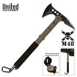 Martial Tactical M48 Ranger Tomahawk Axe w/Compass & Sheath