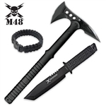 Martial Tactical M48 Kommando Tomahawk Axe w/Knife & Sheath
