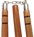Martial Arts Weapons Three Section Staff Hardwood
