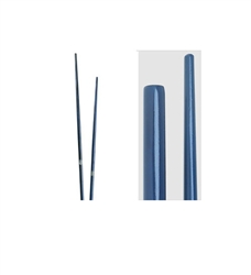 Martial Arts Weapons Bo Staff Blue Competition