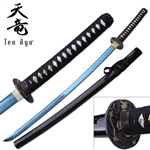 Martial Arts Weapons Sword Katana Colored Unsharp