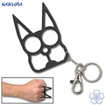 Martial Arts Weapons Self Defense Personal Protection Cat Keychain