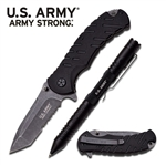 Martial Arts Weapons Tactical Pen Knife Combo