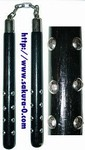 Martial Arts Weapons Nunchaku Studded Ball Bearing