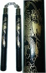 Martial Arts Weapons Nunchaku Black Dragon