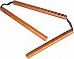 Martial Arts Weapons Nunchaku Three Section