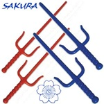 Martial Arts Weapons Sai Plastic Safety Practice