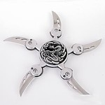 Martial Arts Weapons Shuriken Star Dragons Fury