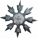 Martial Arts Weapons Shuriken Star Dragon Superior