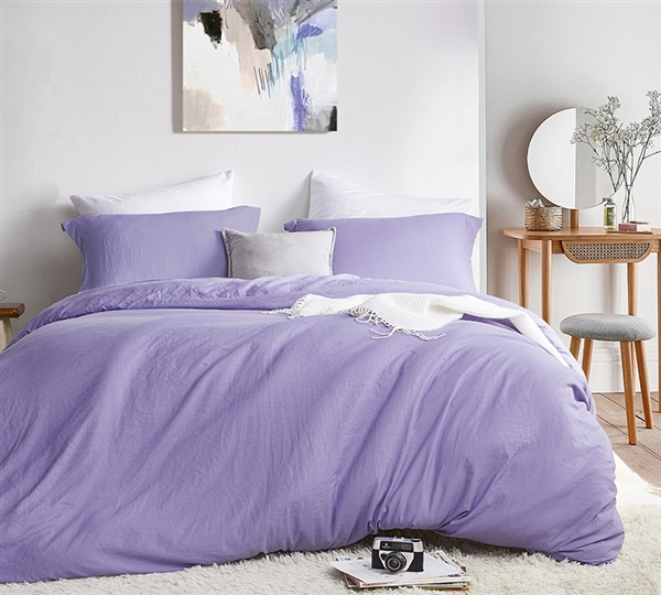 Oversized Twin, Queen, or King Bedspread with Removable Twin, Queen, or King Extra Large Duvet Cover Made with Machine Washable Bedding Materials