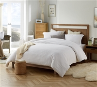 Extra Thick Oversized Comforter Natural Loft Twin XL, Queen XL, or King XL White Super Soft Bedding