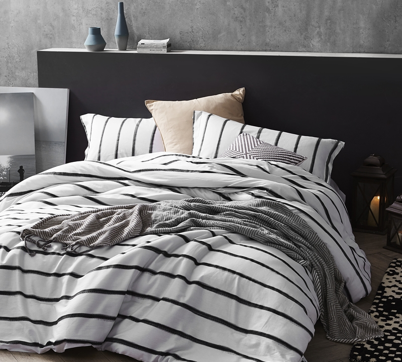Black Ink King Comforter Oversized Xl